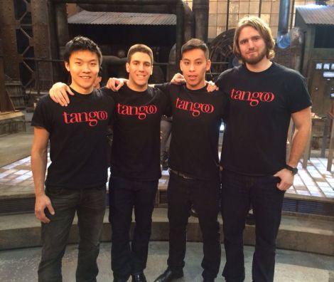 Dragons' Den Team Photo