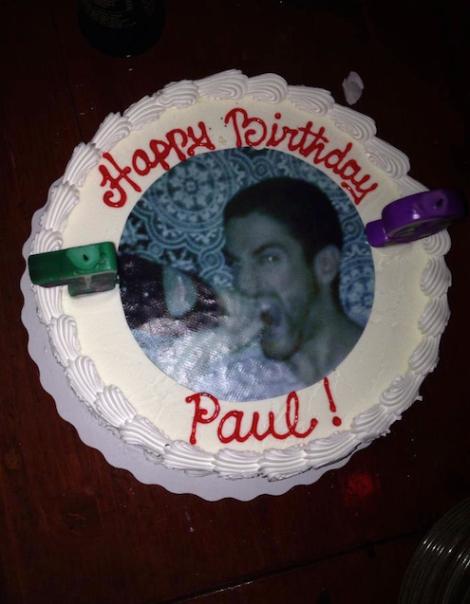 Paul Davidescu Birthday Cake